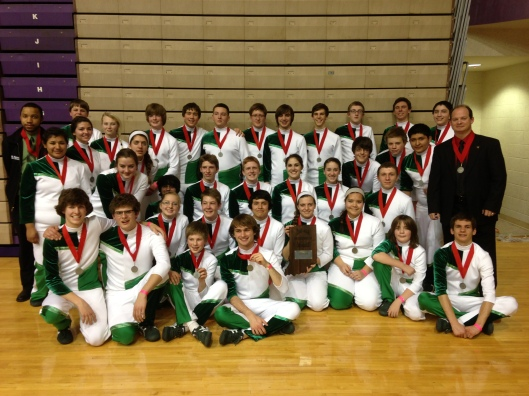 Indiana Percussion Association State Runner-Ups!
